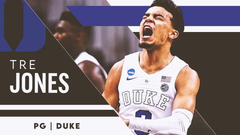 25. Oklahoma City Thunder — Tre Jones, PG, Duke (20)