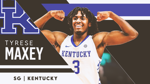 23. Miami Heat — Tyrese Maxey, SG, Kentucky (23)
