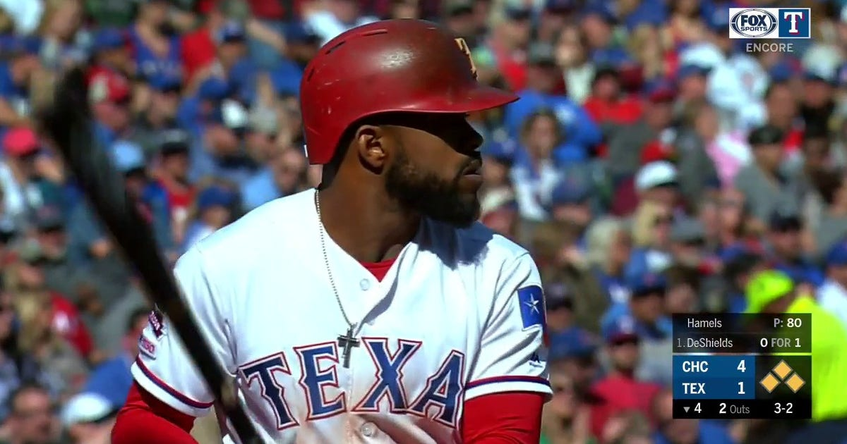 WATCH: Delino DeShields CRUSHES Grand Slam to give Rangers lead | Rangers ENCORE (VIDEO)