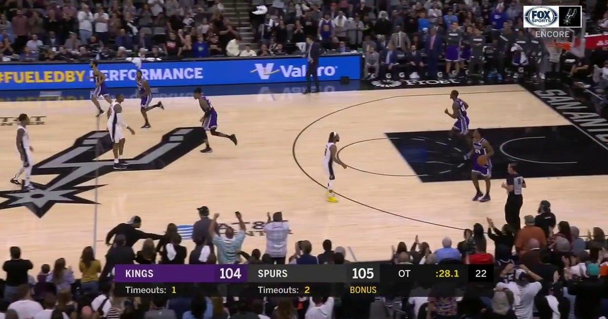 WATCH: Dejounte Murray Hits The Game-Winner | Spurs ENCORE (VIDEO)