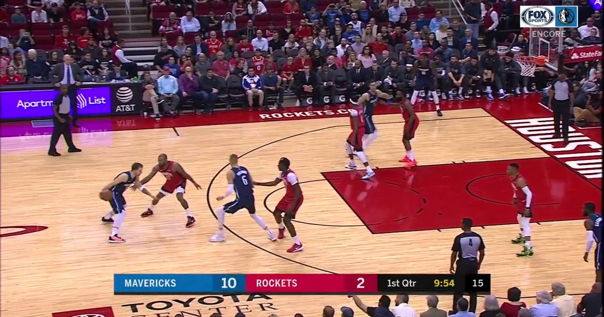 WATCH: Luka Doncic Draws The Foul on the Step Back 3 | Mavericks ENCORE (VIDEO)