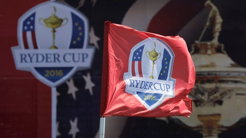 <p>               FILE - This Sept. 26, 2016, file photo shows a flag blowing in the wind before the Ryder Cup golf tournament at Hazeltine National Golf Club in Chaska, Minn. The Ryder Cup was postponed until 2021 in Wisconsin because of the COVID-19 pandemic that raised too much uncertainty whether the loudest event in golf could be played before spectators. The announcement Wednesday, July 8, 2020, was inevitable and had been in the works for weeks as the PGA of America, the European Tour and the PGA Tour tried to adjust with so many moving parts.(AP Photo/Charlie Riedel, File)             </p>