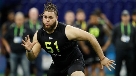 <p>               FILE - In this Feb. 28, 2020, file photo, Alabama offensive lineman Jedrick Wills runs a drill at the NFL football scouting combine in Indianapolis. The Cleveland Browns have signed rookie tackle Wills, their first-round draft pick who will try to slide over to the left side in the NFL. (AP Photo/Charlie Neibergall, File)             </p>