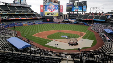<p>               A mostly empty stadium is seen before the Opening Day baseball game between the Mets and the Atlanta Braves at Citi Field, Friday, July 24, 2020, in New York. (AP Photo/Seth Wenig)             </p>