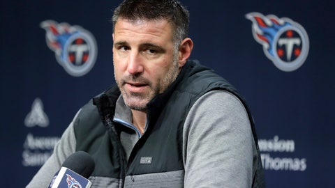 <p>               FILE - In this Jan. 20, 2020, file photo, Tennessee Titans head coach Mike Vrabel answers a question during an NFL football news conference in Nashville, Tenn. The Tennessee Titans have placed their top draft pick, offensive lineman Isaiah Wilson, on the COVID-19/reserve list. The former Georgia star remains the one member of their six-man draft class that has yet to agree to a contract.  (AP Photo/Mark Humphrey, File)             </p>