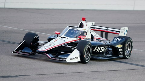 <p>               Josef Newgarden races his car during the IndyCar Series auto race Friday, July 17, 2020, at Iowa Speedway in Newton, Iowa. (AP Photo/Charlie Neibergall)             </p>
