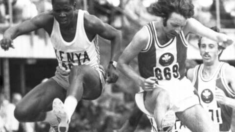 <p>               FILE  - In this Jan. 26, 1974 file photo, Ben Jipcho of Kenya, left and John Davies of Wales take a hurdle during the Steeplechase Final at the Tenth Commonwealth Games, in Christchurch, New Zealand which Jipcho won. Jipcho has died at the age off 77, it was reported on Friday, July 24, 2020.  Jipcho was famous for being the runner who sacrificed his own hopes of a medal to help teammate Kip Keino beat American and heavy favorite Jim Ryun to the gold medal in the 1,500 meters at the 1968 Mexico City Olympics. (AP Photo, File)             </p>