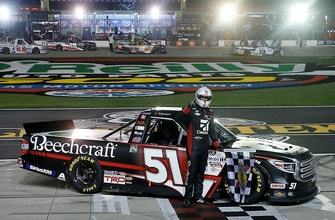 LAST LAPS: Kyle Busch wins in Texas twice in a row, sort of…