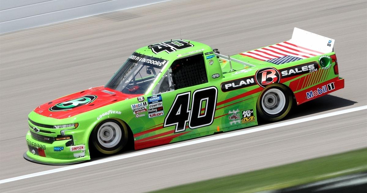 Travis Pastrana returns to the NASCAR Gander RV & Outdoors Truck Series   NASCAR on FOX (VIDEO)