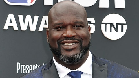 "<p>               FILE - This June 24, 2019, file photo shows Shaquille O'Neal at the NBA Awards in Santa Monica, Calif. A woman whose car was left stranded along a Florida interstate when her tire blew out got a little unexpected help from former NBA star Shaquille O'Neal, sheriff's officials say. O'Neal, who lives in the Orlando area, was traveling on Interstate 75 near Gainesville on Monday, July 13, 2020, when he saw the woman pull onto the side of the road, the Alachua County Sheriff's Office said on a Facebook post. He stayed with the woman until deputies arrived at the scene. ""He fist-bumped Deputies Purington and Dillon before going on his way,"" the sheriff's office wrote on Facebook.  (Photo by Richard Shotwell/Invision/AP, File)             </p>"