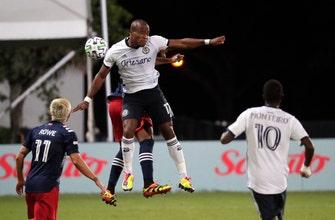 Philadelphia advances with 1-0 win over New England