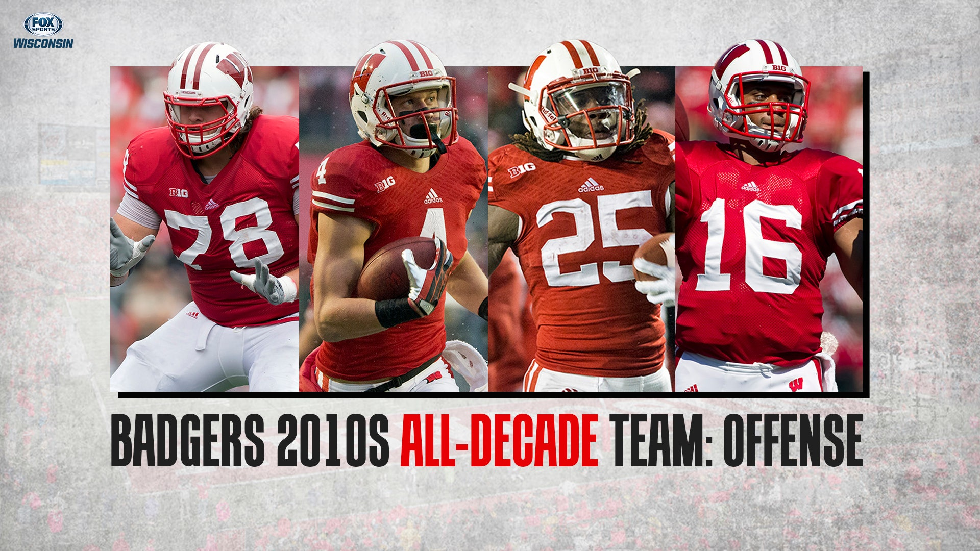 Wisconsin Badgers 2010s all-decade team: Offense | FOX Sports