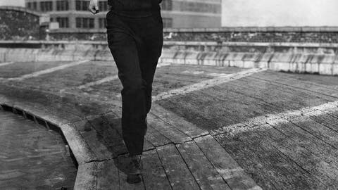<p>               FILE - In this April 13, 1934, file photo, Betty Robinson of Chicago, who won the 100-meter sprints in the 1928 Olympics, is seen working out on a roof track in New York. (AP Photo/File)             </p>