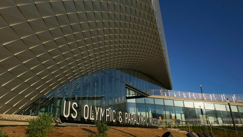 <p>               This July 17, 2020 photo provided by the U.S. Olympic & Paralympic Museum shows the U.S. Olympic Museum in Colorado Springs, Colo. The U.S. Olympic and Paralympic Museum announced Monday, July 20, 2020 that it will open July 30. The museum, located in downtown Colorado Springs, cost around $91 million and will feature 12 exhibits over 60,000 square feet. It will have a first-of-its-kind tribute to the 1980 Olympic team, which was forced to miss the Moscow Games because of a boycott. (Bill Baum/U.S. Olympic & Paralympic Museum via AP)             </p>