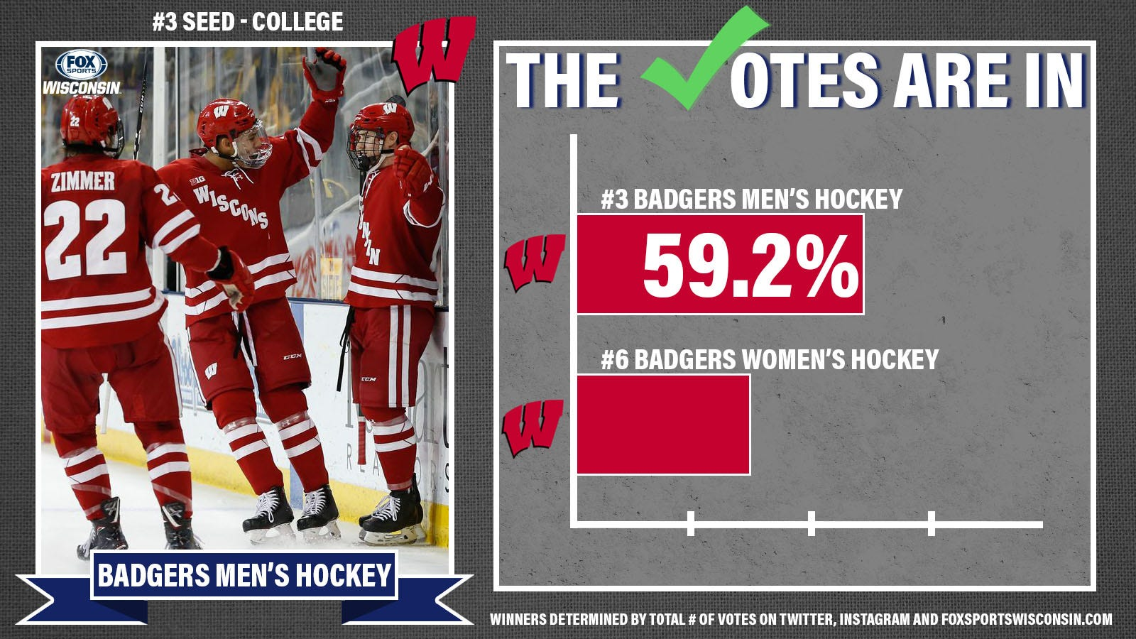 COLLEGE 3 vs. 6 badgers
