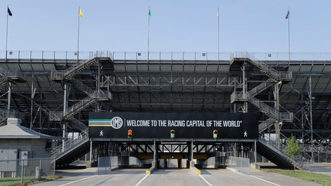 <p>               An Indianapolis Motor Speedway signs greets visitors as they enter the north entrance at the Indianapolis Motor Speedway in Indianapolis, Friday, July 3, 2020. Roger Penske has spent the six months since he bought Indianapolis Motor Speedway transforming the facility. He's spent millions on capital improvements to the 111-year-old national landmark and finally gets to showcase some of the upgrades this weekend as NASCAR and IndyCar share the venue in a historic doubleheader. (AP Photo/Darron Cummings)             </p>