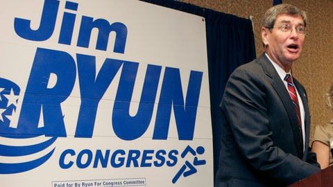 <p>               FILE - In this Aug. 6, 2008 file photo, former congressman Jim Ryun speaks to supporters during an election watch party in Topeka, Kan. Ryun announced the race too close to call. President Donald Trump is awarding the nation's highest civilian honor to Jim Ryun, a former Kansas congressmen who was the first high school runner to clock a mile in under 4 minutes. Trump is scheduled to honor the three-time Olympian with the Presidential Medal of Freedom at the White House on Friday. (AP Photo/Orlin Wagner)             </p>