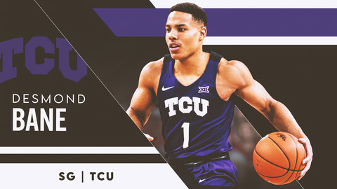 20. Brooklyn Nets (via Philadelphia) — Desmond Bane, SG, TCU (NR)