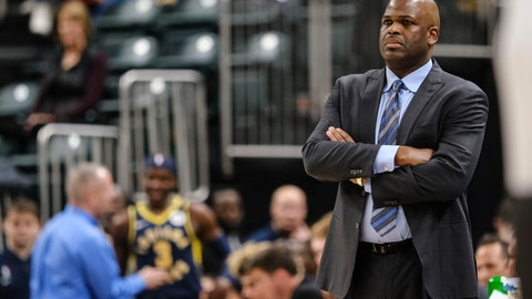 <p>               FILE - In this Feb. 25, 2020, file photo, Indiana Pacers coach Nate McMillan watches during the second half of an NBA basketball game against the Charlotte Hornets in Indianapolis. Formulating a plan to get a team ready for the restart of the NBA season wasn't as difficult as one might expect for McMillan. Turns out, he's been through something similar to this before. (AP Photo/AJ Mast, File)             </p>