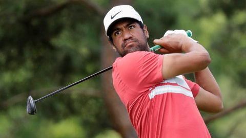 <p>               Tony Finau hits from the second tee during the second round of the Memorial golf tournament, Friday, July 17, 2020, in Dublin, Ohio. (AP Photo/Darron Cummings)             </p>