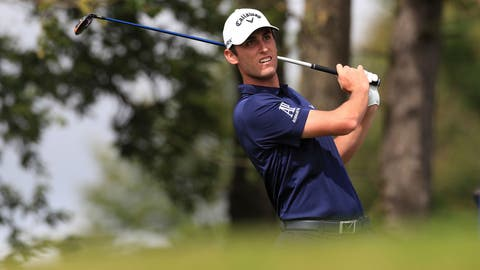 <p>               Italy's Renato Paratore during day four of the British Masters golf tournament at Close House Golf Club, Newcastle, England, Saturday July 25, 2020. (Mike Egerton/PA via AP)             </p>