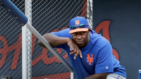 <p>               FILE - In this Monday, Feb. 25, 2019 file photo, New York Mets hitting coach Chili Davis watches from the top of the dugout steps during the fifth inning of an exhibition spring training baseball game against the Houston Astros in West Palm Beach, Fla. Hitting coach Chili Davis will keep on working remotely when the New York Mets open summer training camp Friday, July 3, 2020. (AP Photo/Jeff Roberson, File)             </p>
