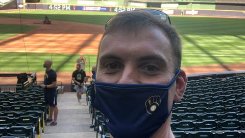 Brent Suter, Brewers pitcher