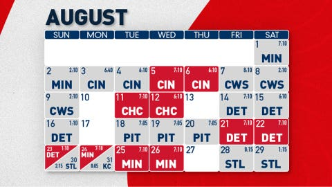 On to August
