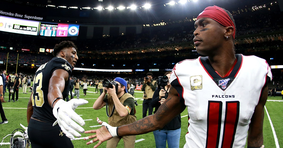 Julio Jones – not Michael Thomas – named best WR by NFL executives