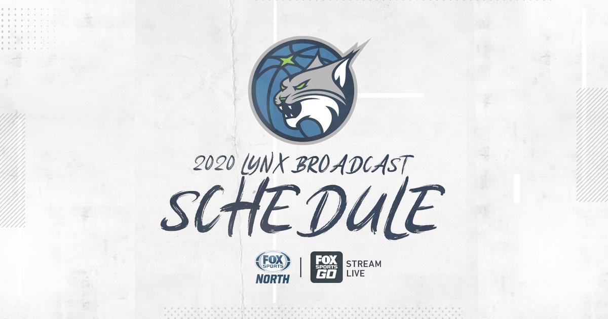 FOX Sports North announces Minnesota Lynx 2020 broadcast schedule