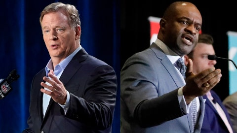 Roger Goodell, DeMaurice Smith, NFL