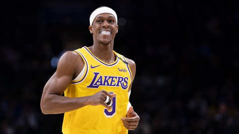 Lakers' Rajon Rondo suffers broken right thumb in practice