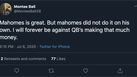 Montee Ball, former Badgers running back