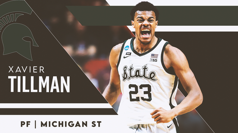 17. Boston Celtics (via Memphis) — Xavier Tillman, PF, Michigan State (NR)