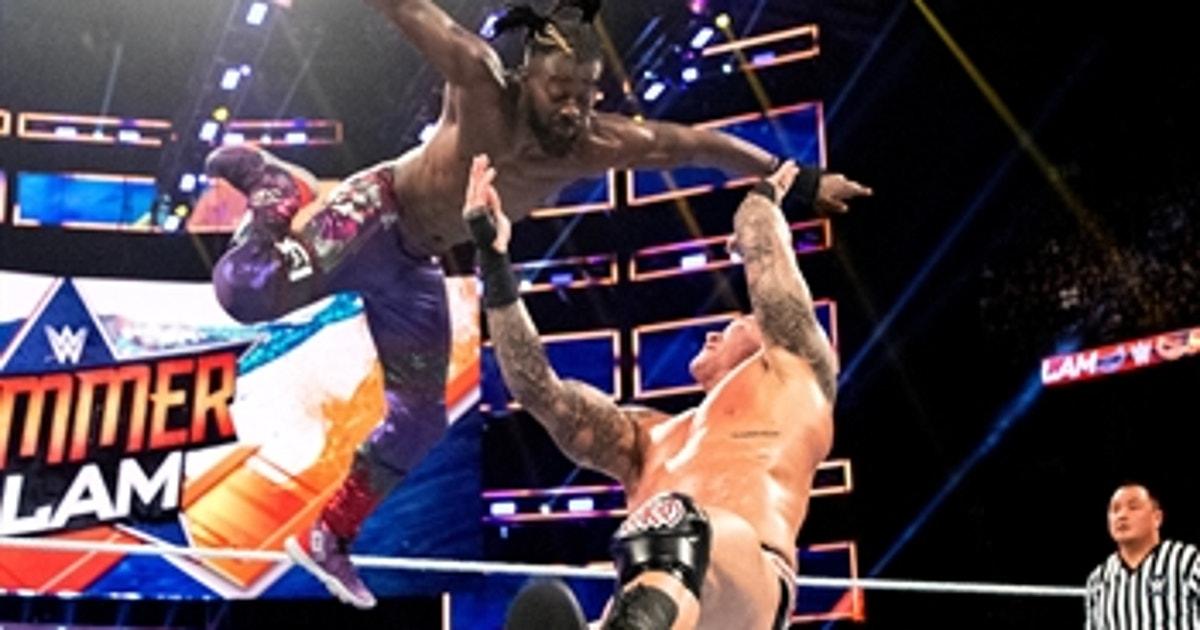 Kofi Kingston vs. Randy Orton – WWE Title Match: SummerSlam 2019 (Full Match) (VIDEO)