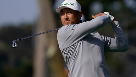 <p>               Li Haotong of China, hits from the fairway on the 10th hole during the second round of the PGA Championship golf tournament at TPC Harding Park Friday, Aug. 7, 2020, in San Francisco. (AP Photo/Charlie Riedel)             </p>