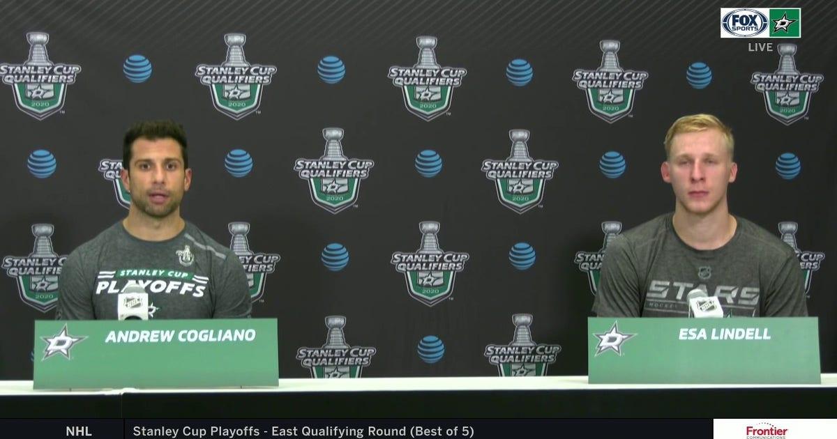 Cogliano, Lindell on the Dallas loss to the Avalanche (VIDEO)