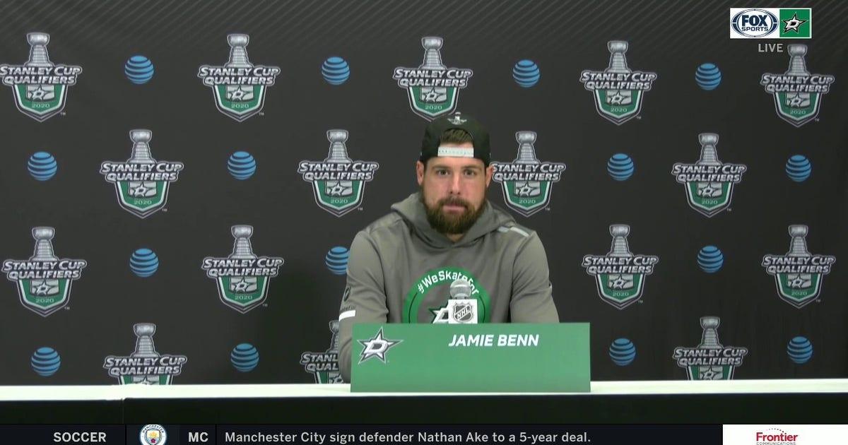 Jamie Benn talks Stars 4-0 loss to the Avalanche (VIDEO)