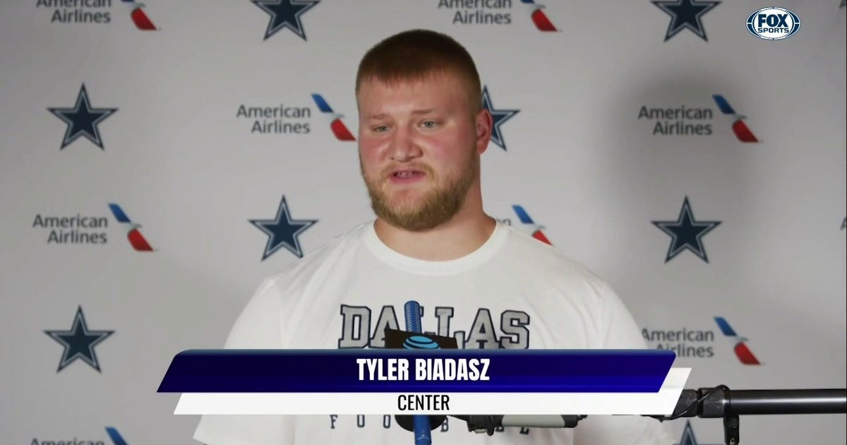 Tyler Biadasz Comes In as Rookie Out of Wisconsin   Inside Cowboys Training Camp (VIDEO)