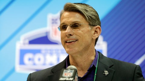 <p>               FILE - In this Feb. 28, 2018, file photo, Minnesota Vikings general manager Rick Spielman speaks during a press conference at the NFL football scouting combine in Indianapolis. The Vikings have signed Spielman to a multi-year contract extension(AP Photo/Darron Cummings, File)             </p>