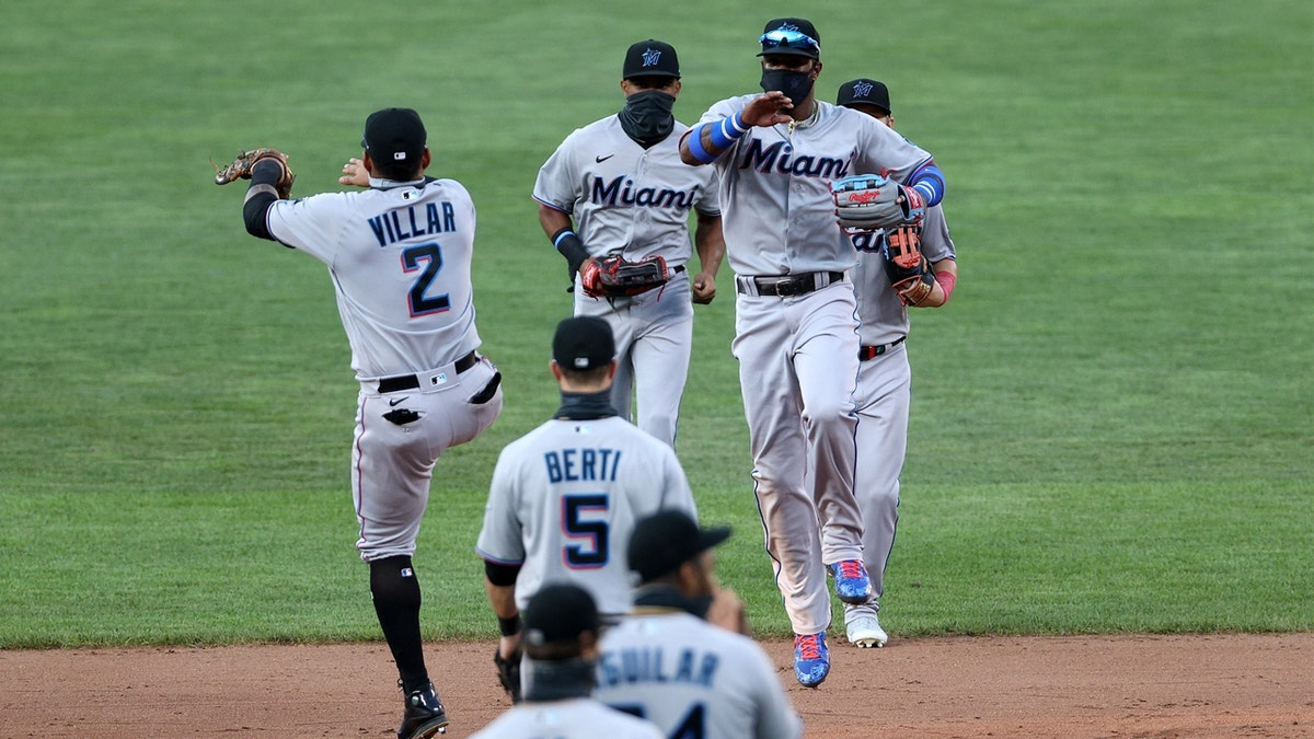 Brian Anderson's solo HR all Marlins need in another shutout of Orioles