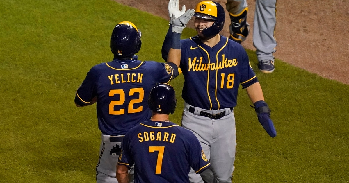 Christian Yelich three-run homer leads the way in Brewers 4-3 win over Cubs (VIDEO)