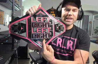 Tyler Breeze unveils new LeftRightLeftRight Championship