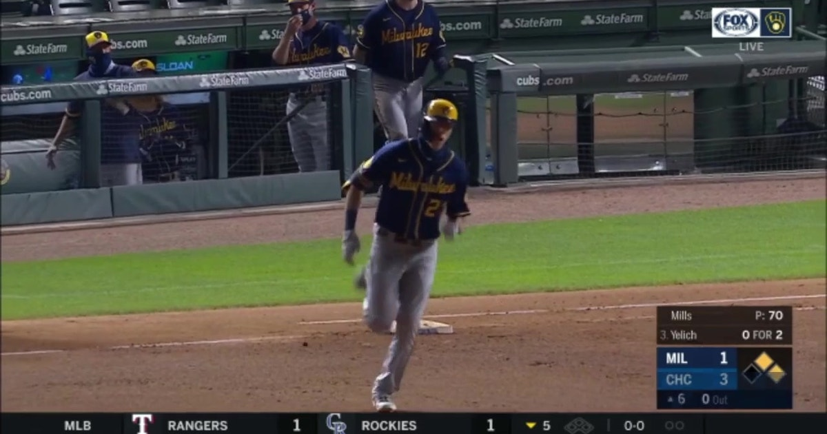 WATCH: Yelich's 3-run blast (VIDEO)