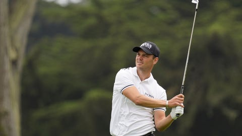 <p>               Martin Kaymer watches his tee shot on the ninth hole during the first round of the PGA Championship golf tournament at TPC Harding Park Thursday, Aug. 6, 2020, in San Francisco. (AP Photo/Jeff Chiu)             </p>