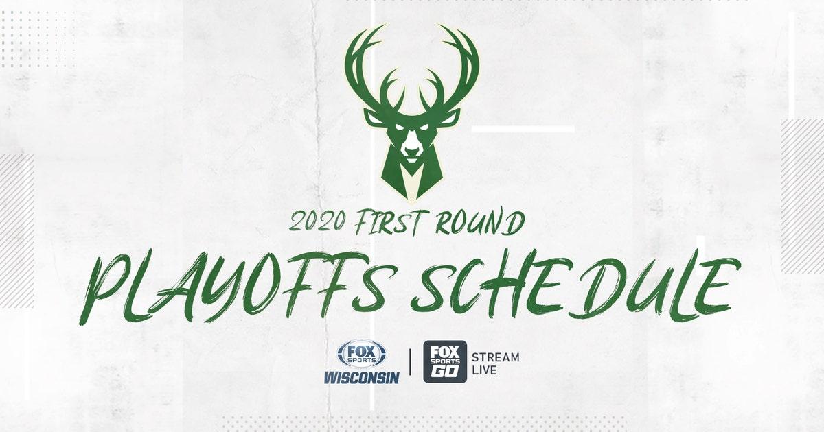 FOX Sports Wisconsin to televise first-round Milwaukee Bucks NBA playoff games