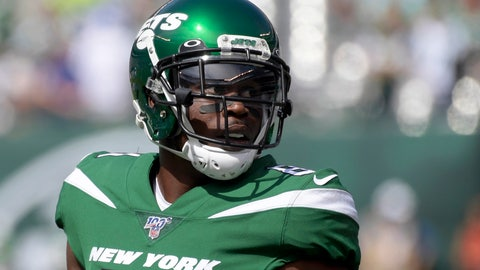 <p>               FILE - In this Sept. 8, 2019, file photo, New York Jets wide receiver Quincy Enunwa (81) warms up before an NFL football game in East Rutherford, N.J. The Jets have  released the veteran wide receiver Quincy Enunwa, who played in just one game last year after suffering his second neck injury in three seasons. (AP Photo/Bill Kostroun, File)             </p>