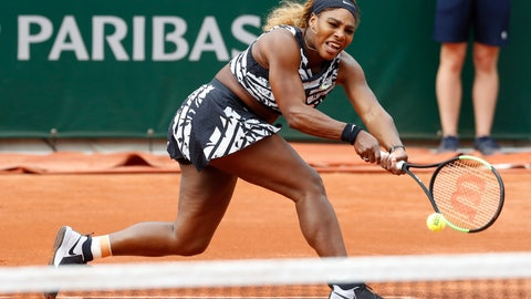 <p>               FILE - In this May 27, 2019, file photo, Serena Williams of the U.S. plays a shot against Vitalia Diatchenko of Russia during their first round match of the French Open tennis tournament at the Roland Garros stadium in Paris. If the French Open were being held as scheduled right now -- instead of postponed to September because of the coronavirus pandemic, Williams again would have had a shot at her 24th major to pull even with Margaret Court for the most in history. (AP Photo/Pavel Golovkin, File)             </p>