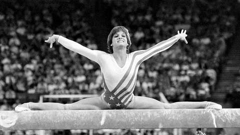 <p>               FILE - In this Aug. 3, 1984, file photo, Mary Lou Retton, of the United States, performs on the balance beam during the women's gymnastics individual all-around finals at the Summer Olympic Games in Los Angeles. (AP Photo/Suzanne Vlamis, File)             </p>