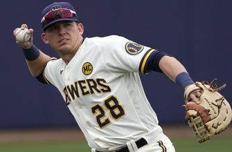 Brewers trim roster to 28 by optioning Healy, Feyereisen